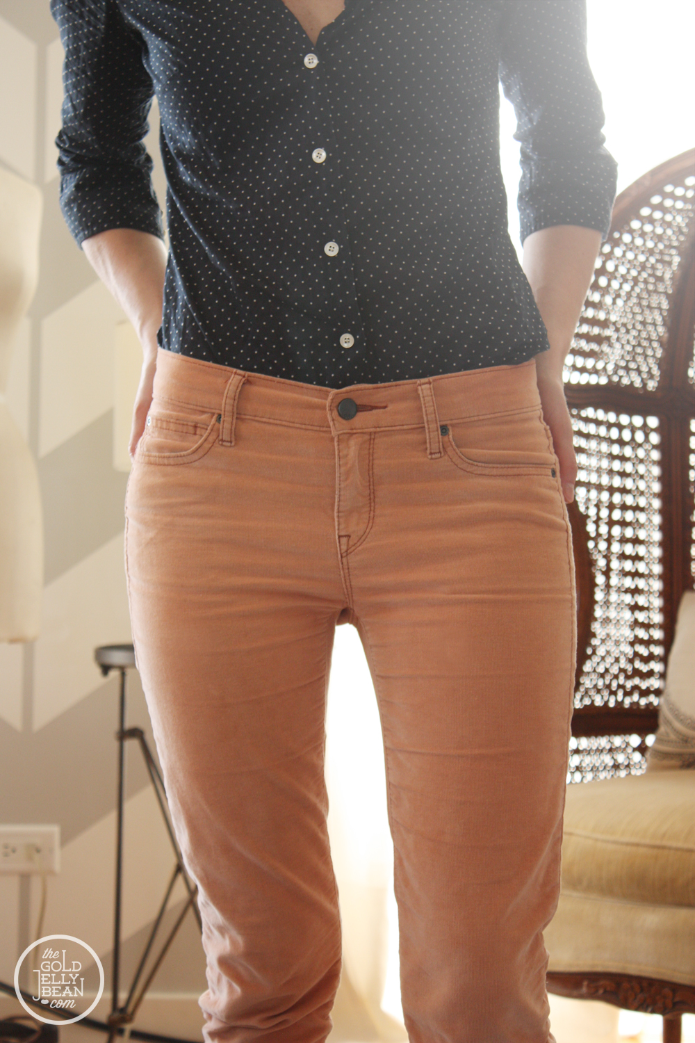 Tuesday Tips DIY : Take Corduroy Pants from Fall to Spring | The ...