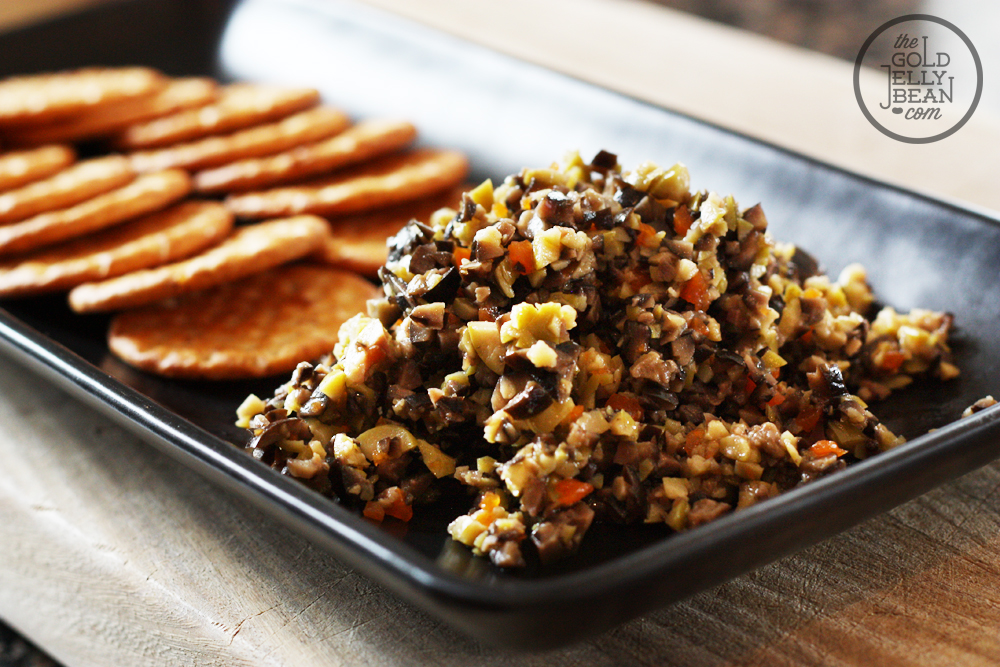 Quick & Easy Olive Tapenade Recipe | The Gold Jellybean