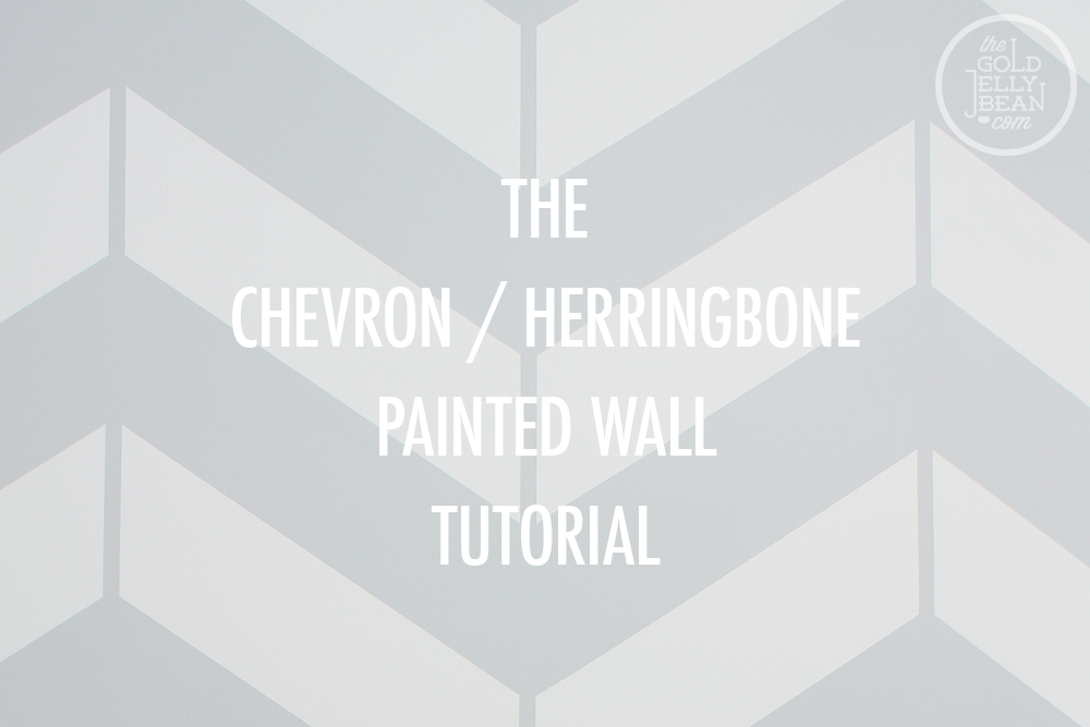 Chevron / Herringbone Wall Tutorial