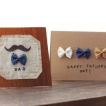 Bow Tie Pasta Father's Day Cards
