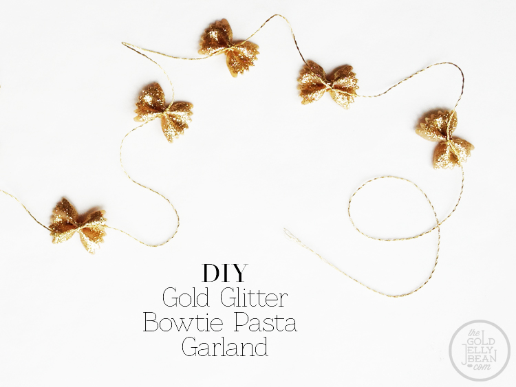 glitter garland