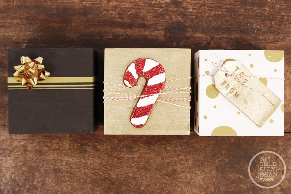 Wood Gift Boxes, via www.thegoldjellybean.com