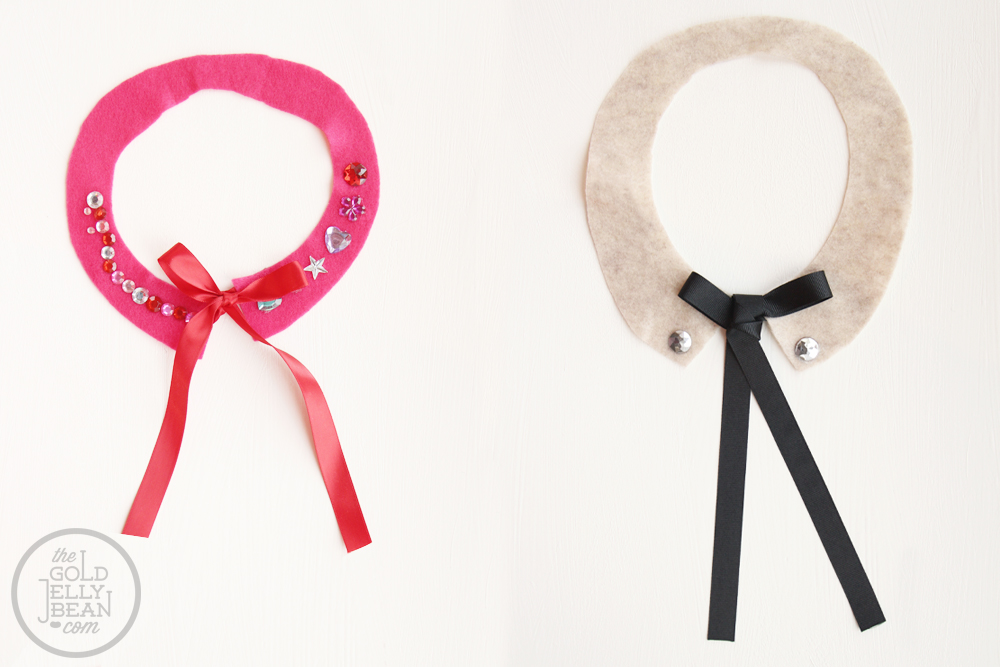 Kids Peter Pan Collar, Perfect for Valentines Day, via www.thegoldjellybean.com