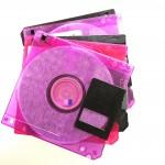 Floppy Disks, via www.thegoldjellybean.com